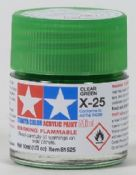 Tamiya 81525 X25 Clear Green